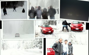 Tahoe trip collage